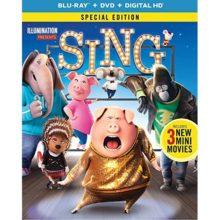 Sing Blu-ray