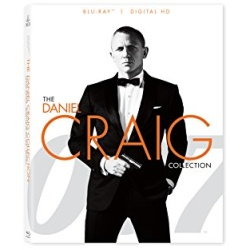 007: The Daniel Craig Collection Blu-ray Cover