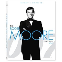 007: The Roger Moore Collection - Vol. 1 Blu-ray Cover