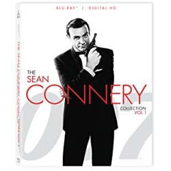 007: The Sean Connery Collection - Vol. 1 Blu-ray Cover