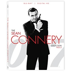 007: The Sean Connery Collection - Vol. 2 Blu-ray Cover