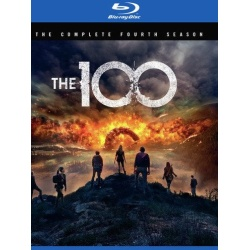 100: The Complete 4th Season Blu-ray Cover
