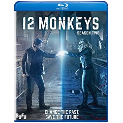 12 Monkeys: Season 2 Blu-ray Cover