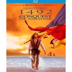 1492: Conquest of Paradise Blu-ray Cover