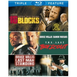 16 Blocks / Last Boy Scout / Last Man Standing Blu-ray Cover