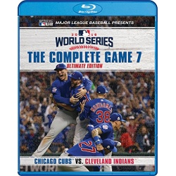 2016 World Series: The Complete Game 7 Blu-ray Cover