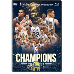 2017 NBA Champions Golden State Warriors Blu-ray Cover