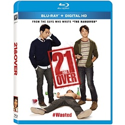 21 & Over Blu-ray Cover
