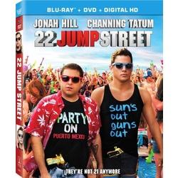 22 Jump Street Blu-ray Cover