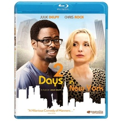 2 Days in New York Blu-ray Cover