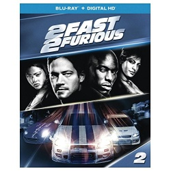 2 Fast 2 Furious Blu-ray Cover