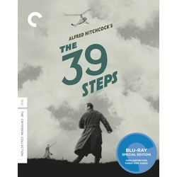 39 Steps Blu-ray Cover