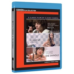 3 Classic Films by Claude Chabrol Blu-ray Cover