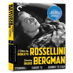 3 Films by Roberto Rossellini Starring Ingrid Bergman Blu-ray Cover