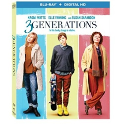 3 Generations Blu-ray Cover