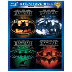 4 Film Favorites: Batman Collection Blu-ray Cover