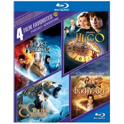 4 Film Favorites: Fantasy Adventure Blu-ray Cover