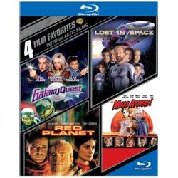 4 Film Favorites: Intergalactic Films Blu-ray Cover