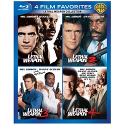 4 Film Favorites: Lethal Weapon Blu-ray Cover