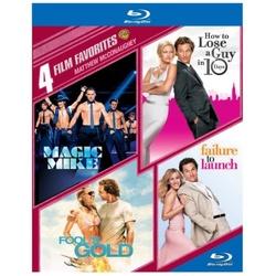 4 Film Favorites: Matthew McConaughey Blu-ray Cover