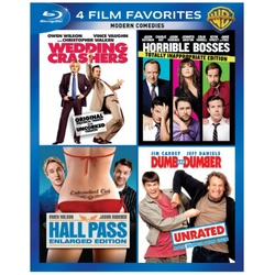 4 Film Favorites: Modern Comedies Blu-ray Cover