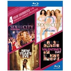 4 Film Favorites: Romantic Comedy Blu-ray Cover
