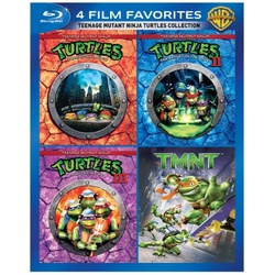 4 Film Favorites: Teenage Mutant Ninja Turtles Collection Blu-ray Cover