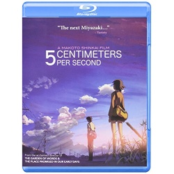 5 Centimeters Per Second Blu-ray Cover
