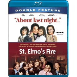 About Last Night / St. Elmo's Fire Blu-ray Cover