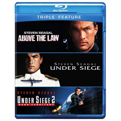 Above the Law / Under Siege / Under Siege 2 Blu-ray Cover