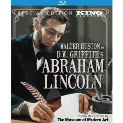 Abraham Lincoln Blu-ray Cover