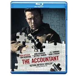 The Accountant Blu-ray