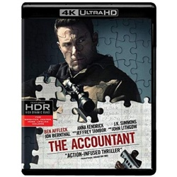 Accountant Blu-ray Cover