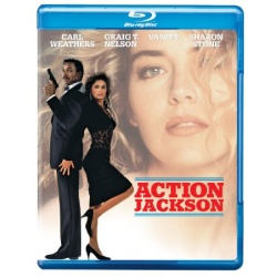 Action Jackson Blu-ray Cover