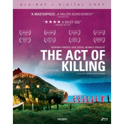 Act of Killing Blu-ray Cover