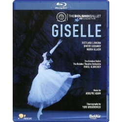Adam: Giselle Blu-ray Cover