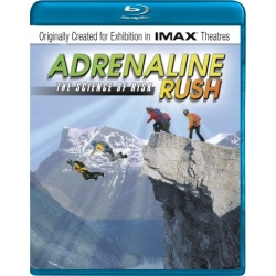 Adrenaline Rush: The Science of Risk Blu-ray Cover