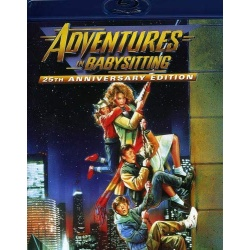 Adventures in Babysitting Blu-ray Cover