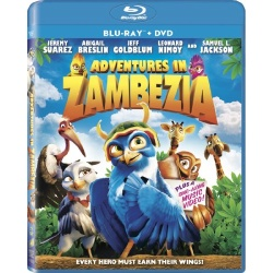 Adventures in Zambezia Blu-ray Cover