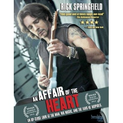 Affair of the Heart: Rick Springfield Blu-ray Cover