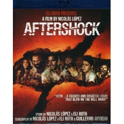 Aftershock Blu-ray Cover