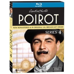 Agatha Christie's Poirot: Series 4 Blu-ray Cover