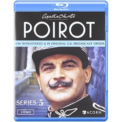Agatha Christie's Poirot: Series 5 Blu-ray Cover
