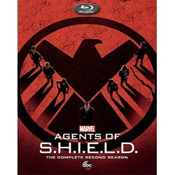 Agents of S.H.I.E.L.D.: The Complete 2nd Season Blu-ray Cover