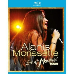 Alanis Morissette: Live at Montreux 2012 Blu-ray Cover
