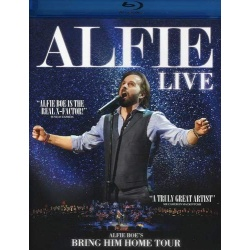 Alfie Live Blu-ray Cover