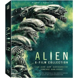 Alien 6-Film Collection Blu-ray Cover