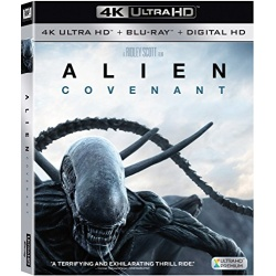 Alien: Covenant Blu-ray Cover