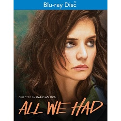 All We Had Blu-ray Cover