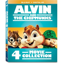 Alvin and the Chipmunks 4-Movie Collection Blu-ray Cover